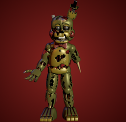 [RANDOMISED FNAF CHARACTER] Toy William Afton by yoshipower879
