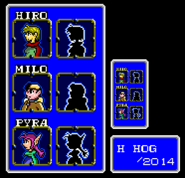 Shining in the Darkness - Menu Profiles by HHog