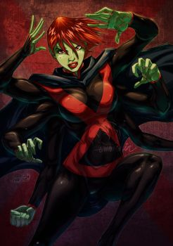 Miss Martian by emmshin