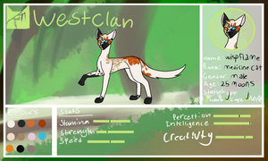 Wispflame ref | THE DARK SKIES by Evan-escence