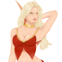 Virxinia half body by ElenaForU
