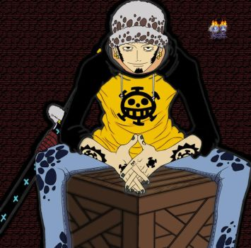 Trafalgar Law by Xenophilius97