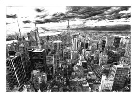 New York panorama by 1Dage1
