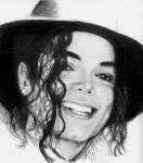 The King of Pop and Smiles by CezLeo
