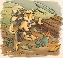 Mushroom Picking by casual-dhole