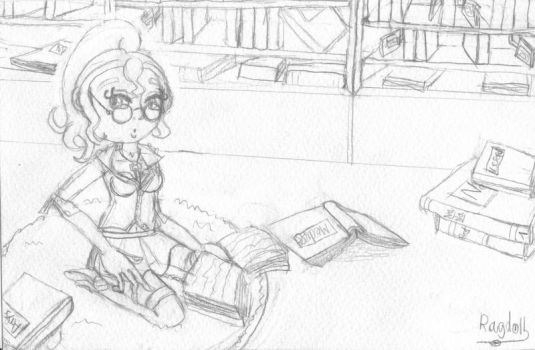 Crayonne pin up biblio 02 by A-Rag-Doll