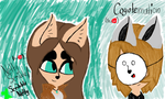 ScribbleNetty and Coyotemation by Riyana2