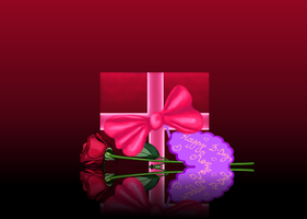 Gift for Rose by Gryphonia