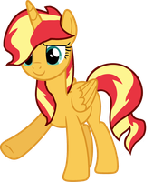 AU Sunset Shimmer by AngryDaisy16