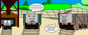 Beavis and Butthead do Sodor by scifiguy9000