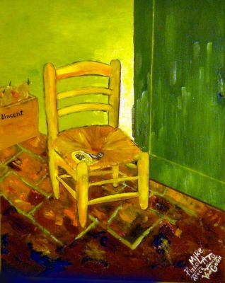 Yellow Chair, by Mike Pizzolato by MikePizzolato