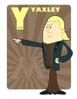 Y is for Yaxley by jksketch