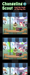 Changeling Scout And The Book Of Daring Do 01 by vavacung