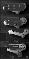 Steam Theme Win10 Creators Update by Cleodesktop