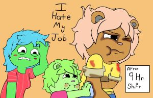 I hate my job by MrBda241