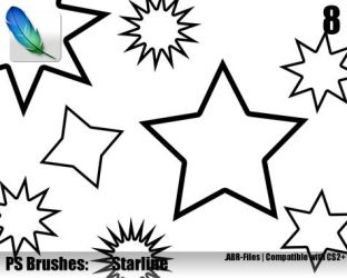 Starline Brushes by ML-Worlds