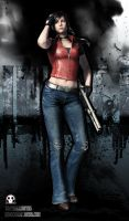Claire Redfield RER by RedScar07