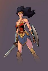 Wonder-woman Color by logicfun