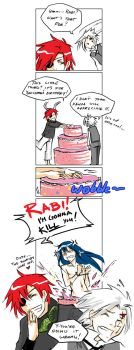 More cake and more lies... by beanclam