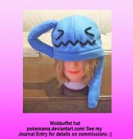 Wobbuffet hat by PokeMama