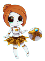 Orianna (For Sylvibot) League of Legends by TsundereWaifu