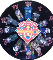Doctor Who Clock by KirstinJHill