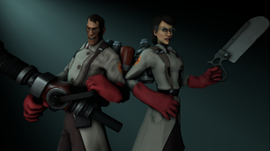 The 2 Medic's by chicafreddy32
