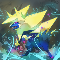 Shiny Mega Manectric by PinkGermy