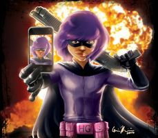 Hit-Girl Pint-Sized Powerhouse Part 3 by Mark35950