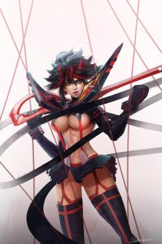 Ryuko kill la kill by Himchanart