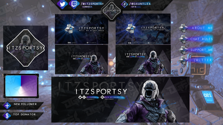 ItzSportsy Twitch Stream set by DauntlexGFX