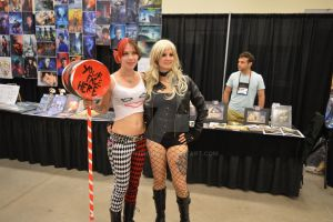 Harley Quinn and Black Canary by D-Anthonie