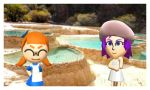 Tomodachi Life- Inkling and Jez on vaction by Killzonepro194
