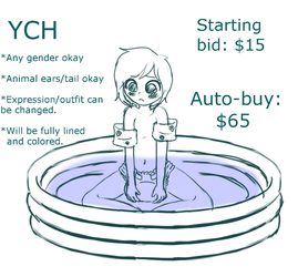 YCH: Baby Pool, Literally. (CLOSED) by Pastel-Hime