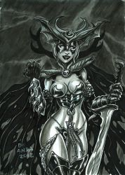 Hela gray by chachaman