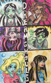 Dream Ghouls by KHwhitelion