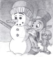 A Perfect Snowman by RyougaLolakie