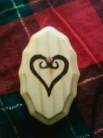 KH Logo burned into wood by cmsully