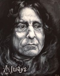 Snape 1 by tattoos-by-zip