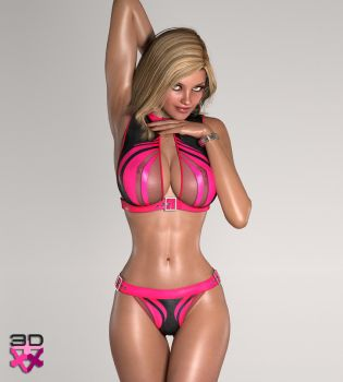 ERIN - B-Girl VII photoshoot by 3D-Angels