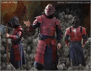 Lord of Pain - Armour outfit by TheIronRing