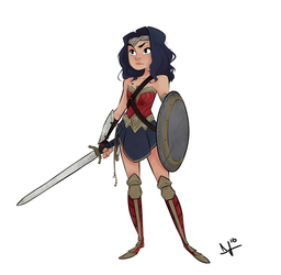 Wonder Woman by tomaytoTOMAHTO