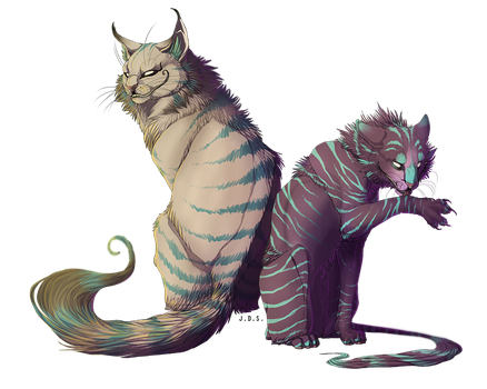 Dem bro cats by TornTethers