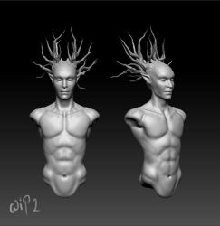 Tree-spirit WIP 2 by PT200