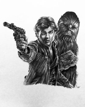 Solo: A Star Wars Story Sketch by MattWArt