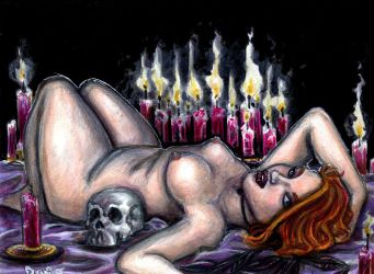Lilith By Candlelight by DJNebulous