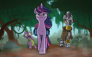 Everfree Expedition by TopGull