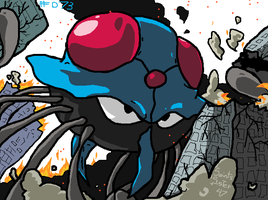 #073 Tentacruel by SaintsSister47