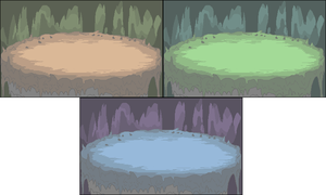Cavernous Battle Backgrounds by Lord-Myre