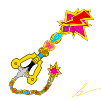 Keyblade Of Harmony by mkf2308